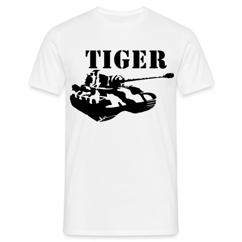 Tiger TANK - T-skjorte for menn