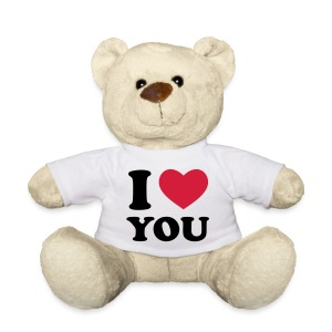 i heart teddy - Teddy Bear