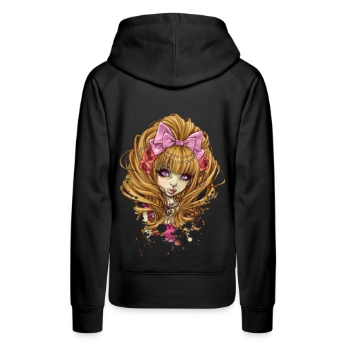 SHIBUYA UNDEAD princess hoodie - Frauen Premium Hoodie