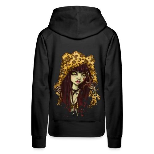 SHIBUYA UNDEAD punkish hoodie - Frauen Premium Hoodie