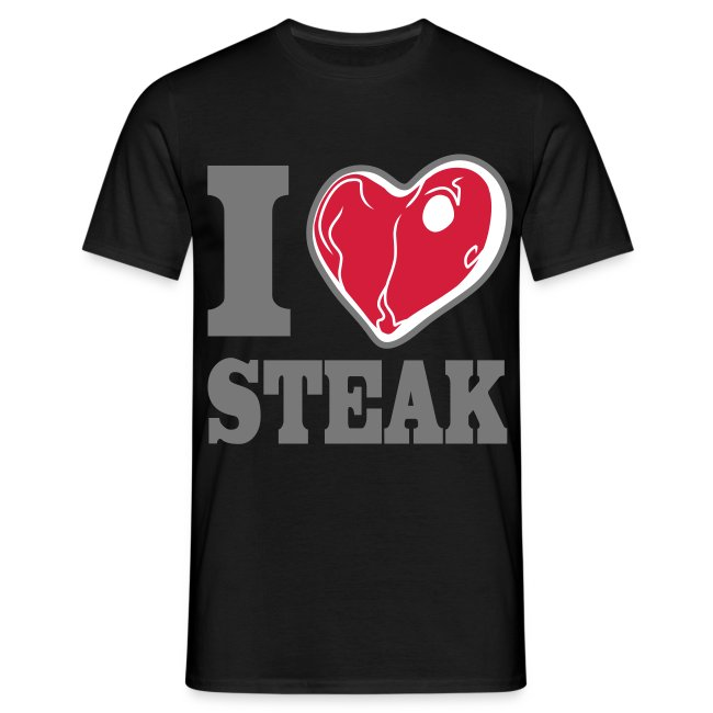 I LOVE STEAK men's classic fit