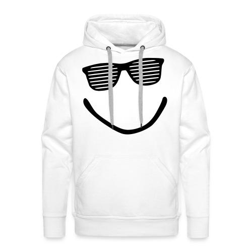 Happy Man - Sudadera con capucha premium para hombre