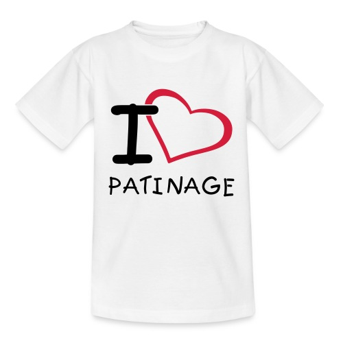 PatinageEnfant - T-shirt Ado