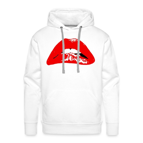 VDH sexy lips hoody men  - Mannen Premium hoodie