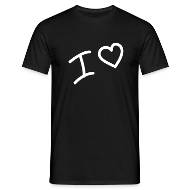 I heart - I love - Heart T-Shirts