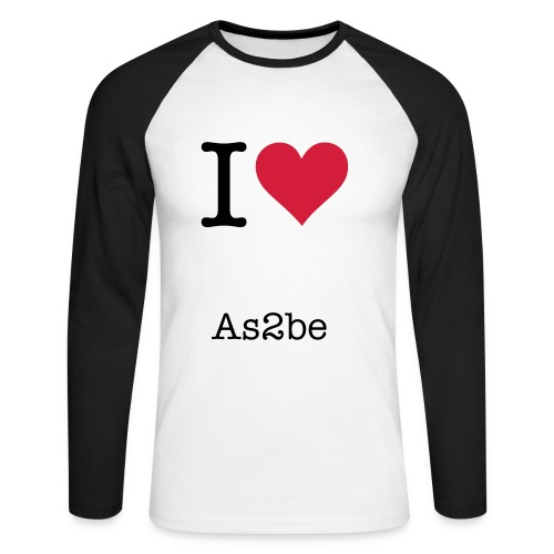 as2be - Men's Long Sleeve Baseball T-Shirt