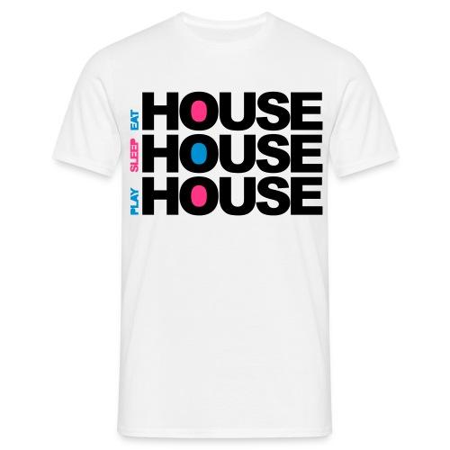 HOUSEHOUSEHOUSE - Männer T-Shirt