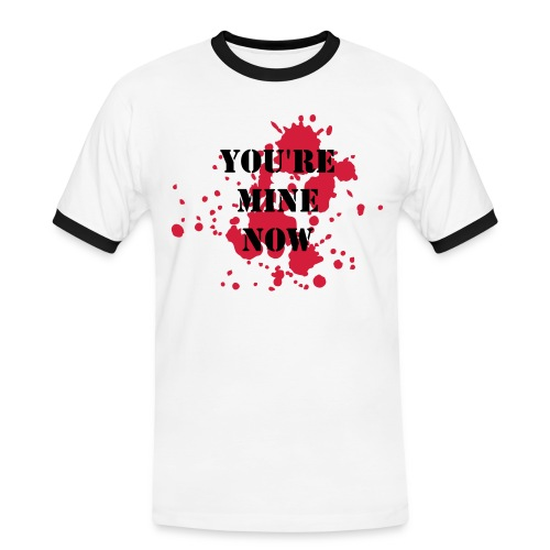 You're Mine Now - DEXTER coloured tee - Men's Ringer Shirt