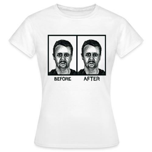 Before/After Women's T-shirt - Women's T-Shirt