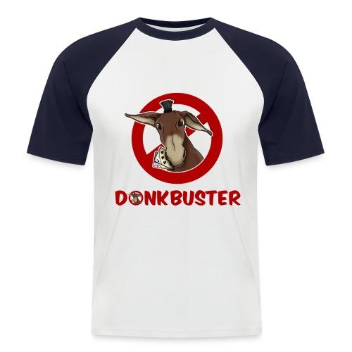 T-shirt manica corta Donkbuster - Maglia da baseball a manica corta da uomo