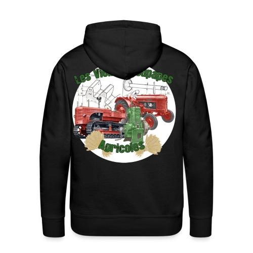 Sweatshirt à capuche Homme - Sweat-shirt à capuche Premium pour hommes
