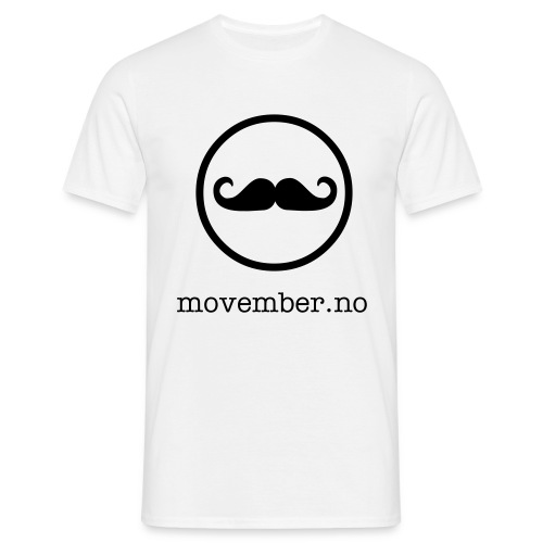 movember - T-skjorte for menn