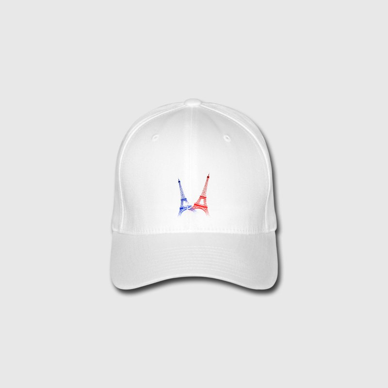 EIFFEL TOWER (Blue-White-Red) - Flexfit Baseball Cap