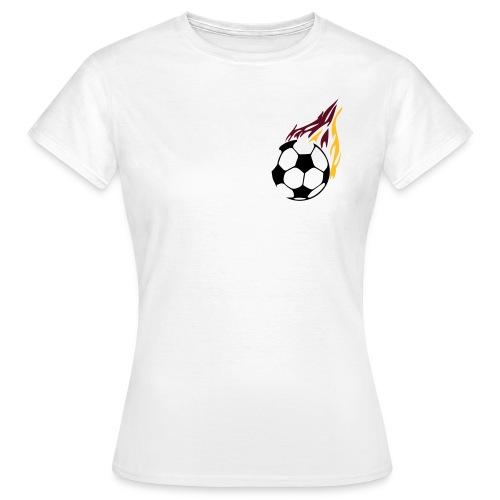 Deutschland-Fußball-Girlie-Shirt - Women's T-Shirt