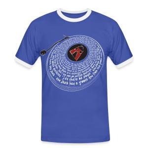 In The Beginning - Men's Contrast Light T-Shirt - Men's Ringer Shirt