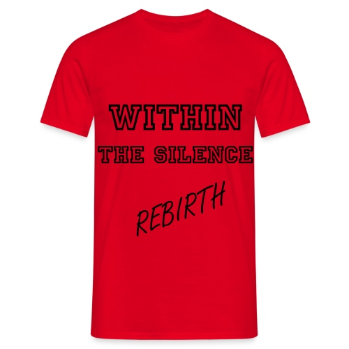 Red Rebirth Mens Tee - Men's T-Shirt