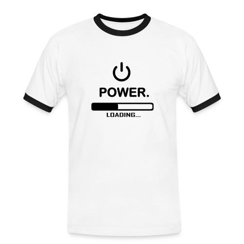 T-shirt Power - T-shirt contrasté Homme