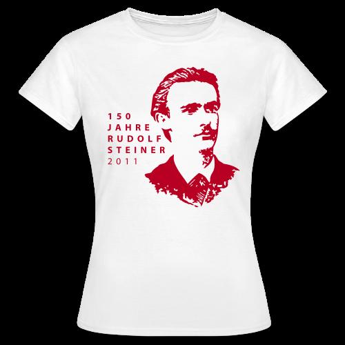 150 Jahre Rudolf Steiner 2011 - Women's T-Shirt