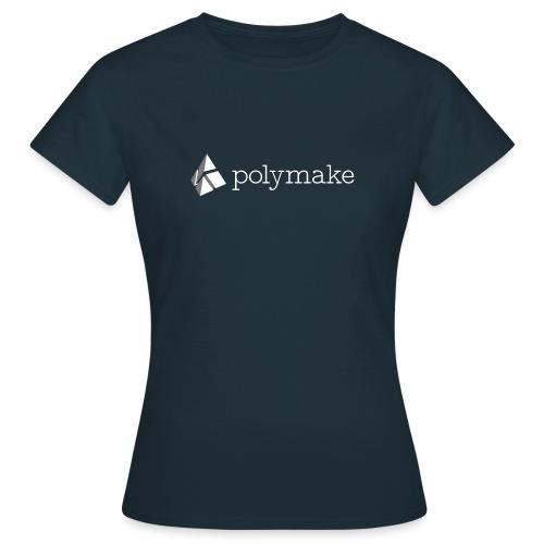 polymake women's t-shirt (white/grey) - Women's T-Shirt
