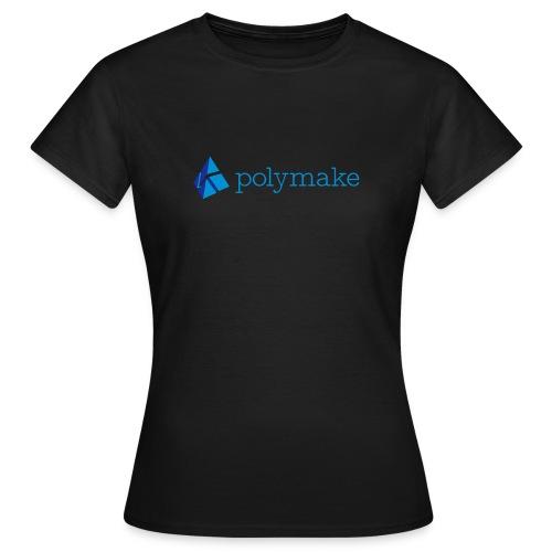 polymake women's t-shirt (blue) - Women's T-Shirt