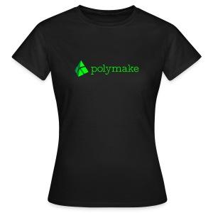 polymake women's t-shirt (green) - Women's T-Shirt