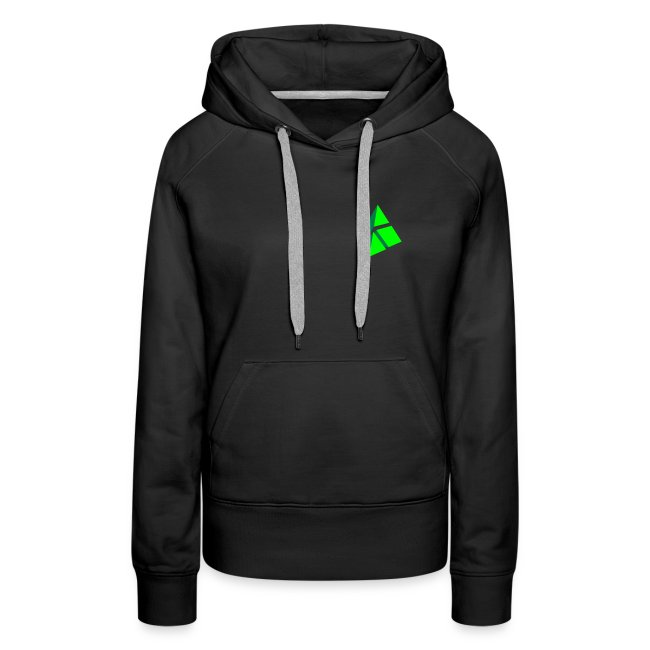 polymake women's hoodie (green)