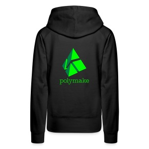 polymake women's hoodie (green) - Women's Premium Hoodie