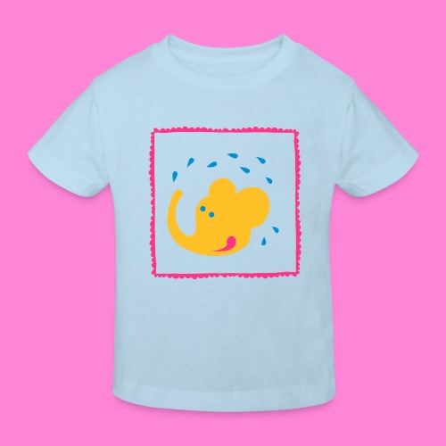 Happy elephant to - Kinderen Bio-T-shirt