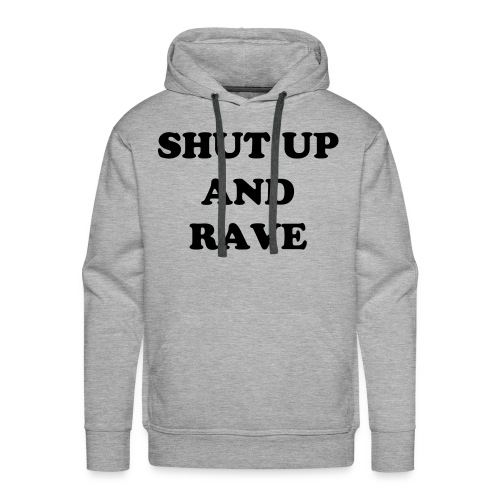'The basic orginally rave' hoodie - Men's Premium Hoodie