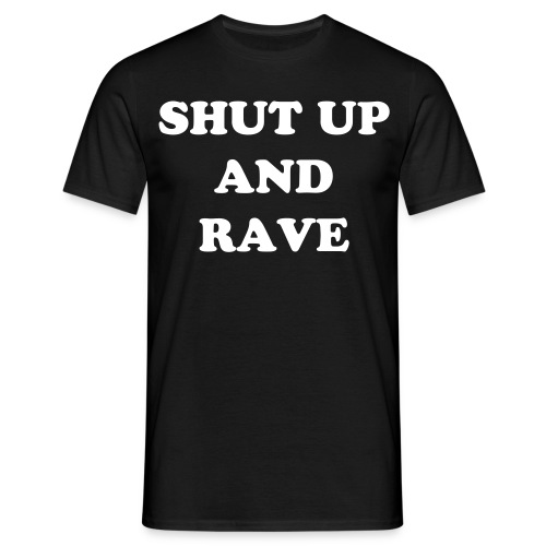 'The basic orginally rave' mens tee - Men's T-Shirt