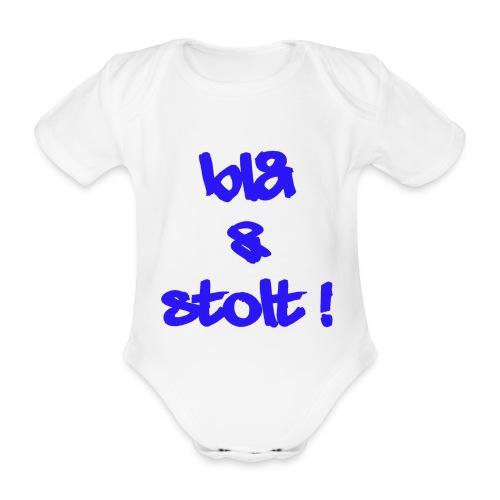 Blå og Stolt 2010 - 034 - Økologisk kortermet baby-body