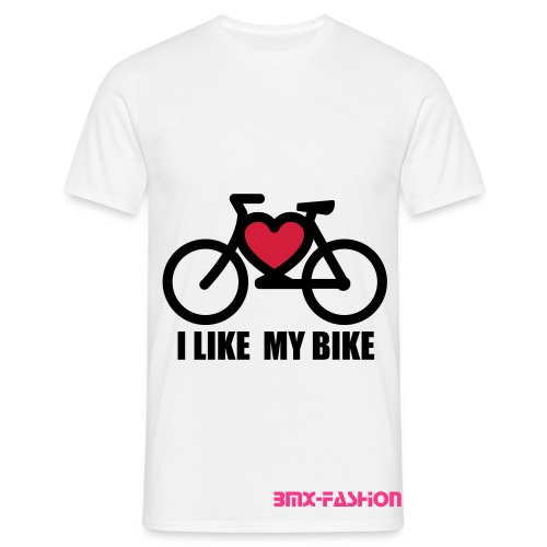 Like my Bike - Männer T-Shirt