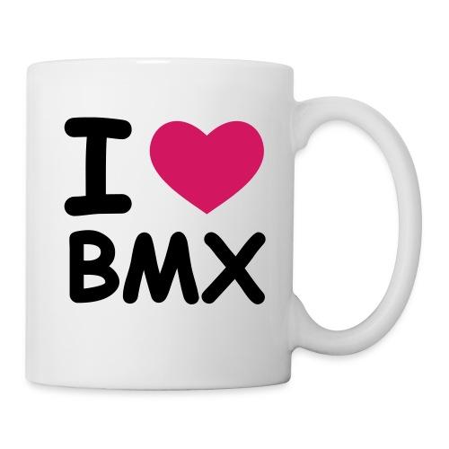 I Love my BMX Tasse - Tasse