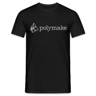 T-Shirts ~ Men's T-Shirt ~ polymake men's t-shirt (outlined logo)