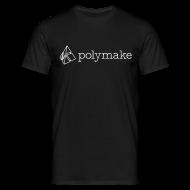 T-Shirts ~ Men's T-Shirt ~ polymake men's t-shirt (outlined logo)