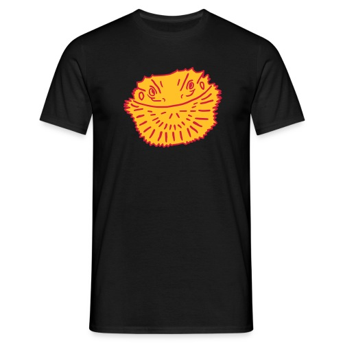 Angry Bearded Dragon T-Shirt - Men's T-Shirt