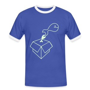 Big Fish - Men's Contrast Light T-Shirt - Men's Ringer Shirt