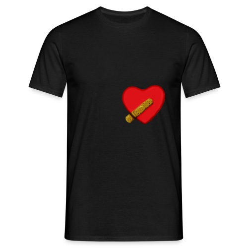 broken heart - T-shirt herr