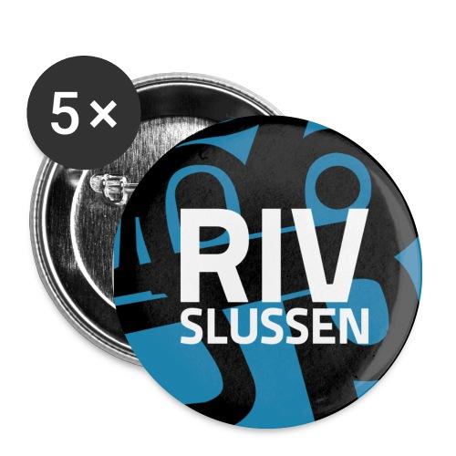 Mellanstor pin - riv slussen - Mellanstora knappar 32 mm (5-pack)