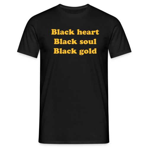 Black gold - T-shirt Homme