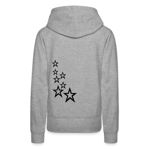 Kaputzenpullover Frauen Stars - Frauen Premium Hoodie