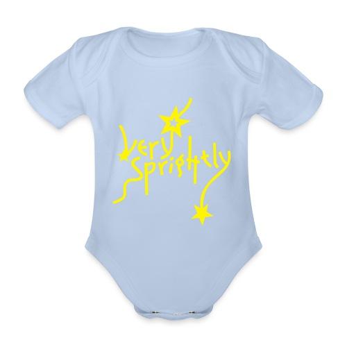 very sprightly | Baby Body - Baby Bio-Kurzarm-Body
