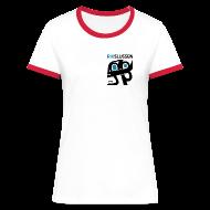 T-shirts ~ Kontrast-T-shirt dam ~ Artikelnummer 14286855
