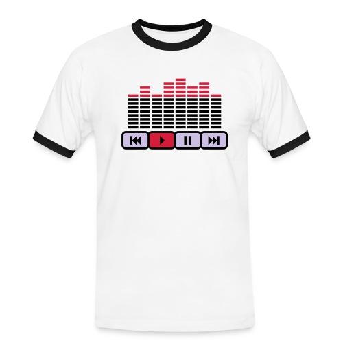 Decibels - Camiseta contraste hombre