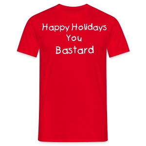HAppy holidays - Men's T-Shirt