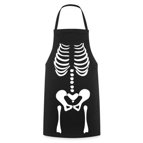 Kochschürze: Skelett - Kochschürze