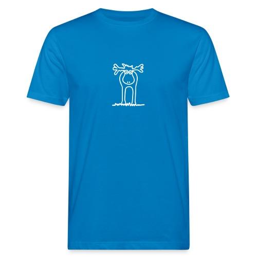 Lustiger Elch oder Rentier? - Männer Bio-T-Shirt