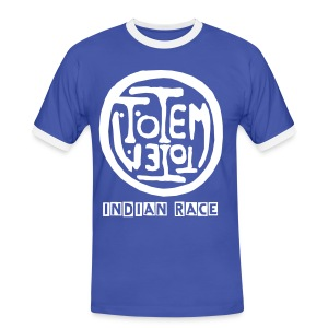 iNDIAN RACE - TOTEM - T-shirt contraste Homme