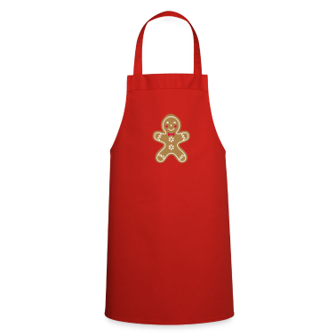 yummy funny gingerbread man  Aprons