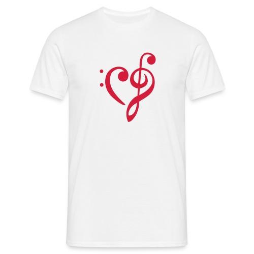 Nøkler i harmoni - T-skjorte for menn